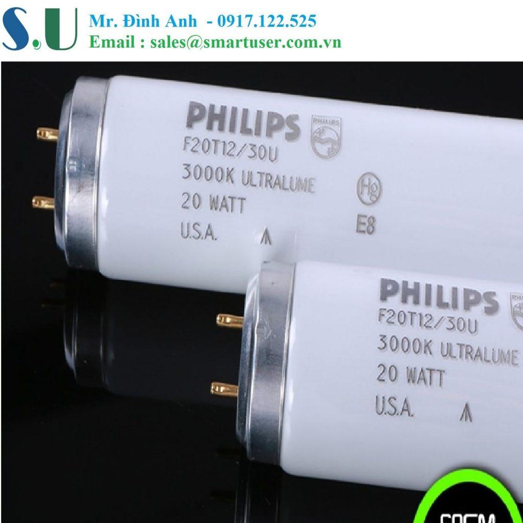 Bóng đèn U30 cho tủ so màu - hãng Philips