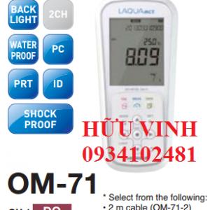 máy đo oxi hòa tan