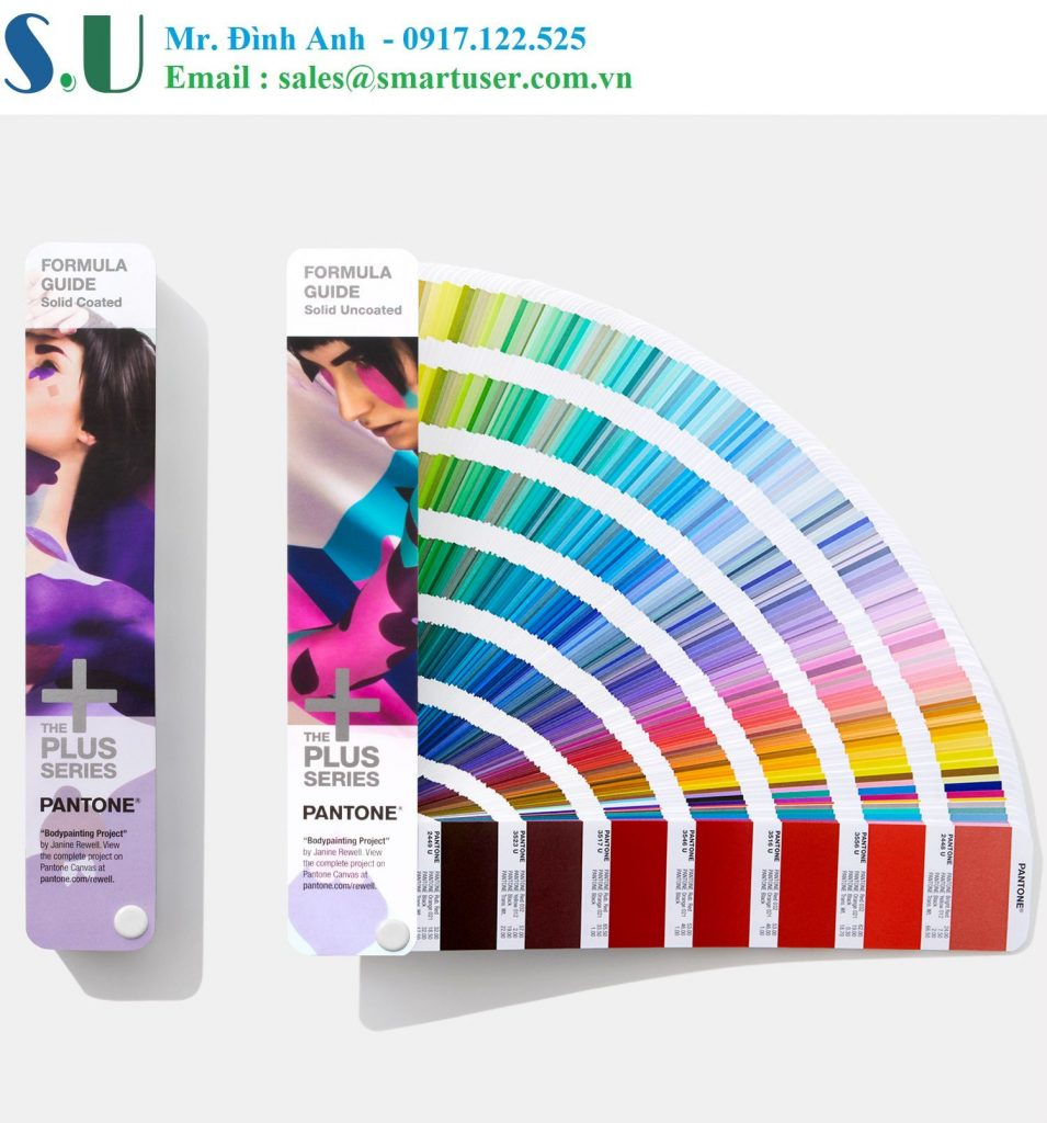 Thẻ màu Pantone Formula Guide Coated & Uncoated